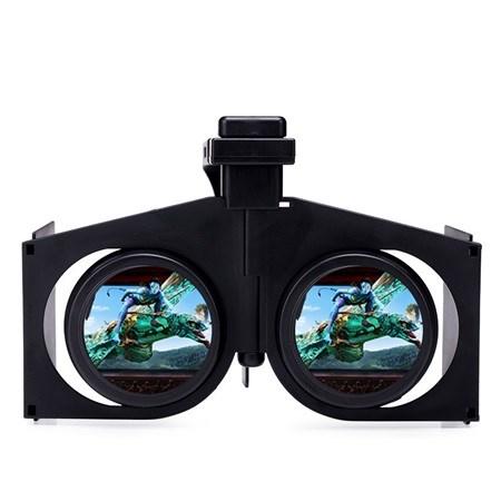 373dab680e13 V1 Foldable 3D VR Glasses Portable Virtual Reality Headset. Image 1